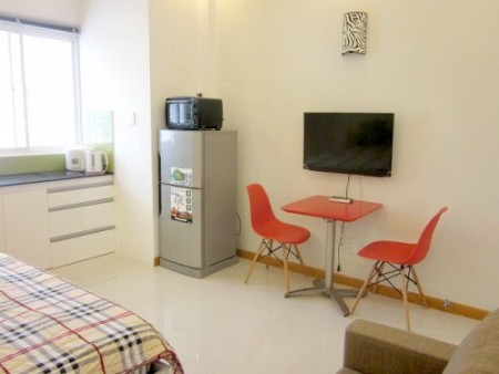 Serviced apartment on Duong Ba Trac street, Dist 8 (9)