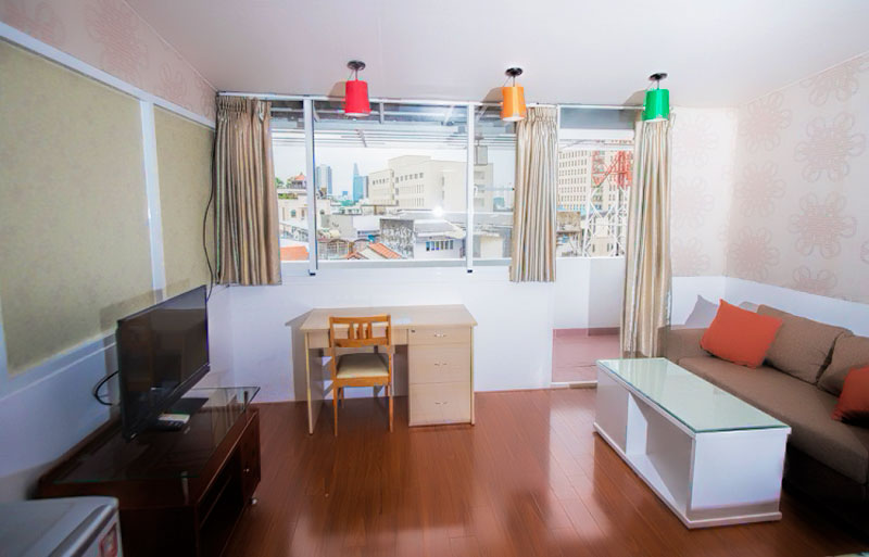 0125-0704 Serviced apartments for daily or long term rental - One bedroom apartments at Smiley 3 building