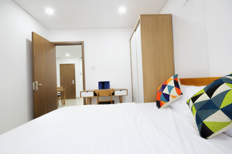 06041240 Short term and long term serviced apartment for rent in Smiley 11 building 2 bedroom