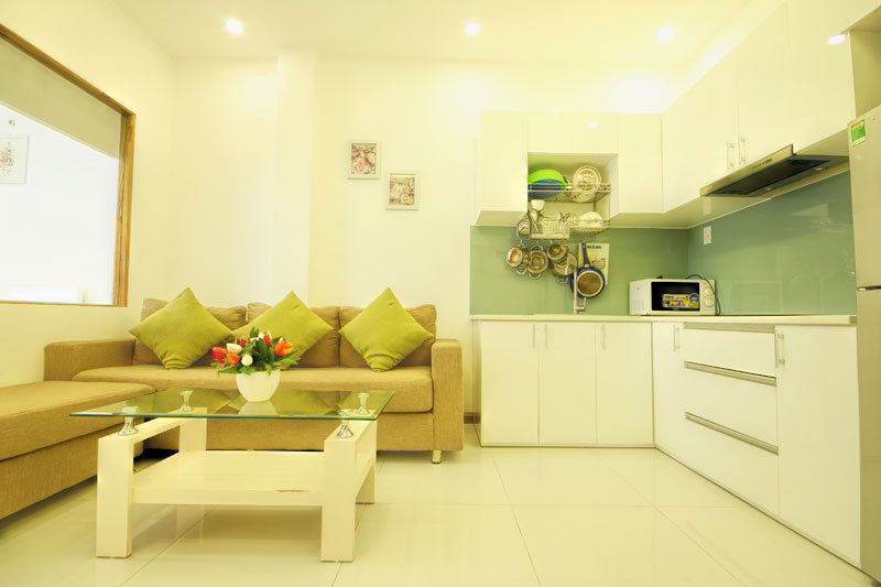 2032-1804 Serviced apartment Nguyen Trai street has a kitchen, fully equipped kitchen